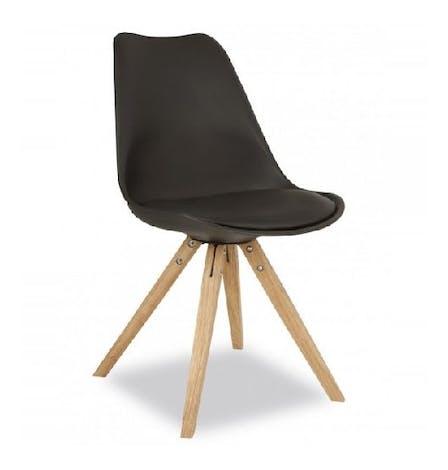 K1190 Oak round leg