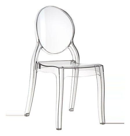 Elizabeth Chair Clear Transparent