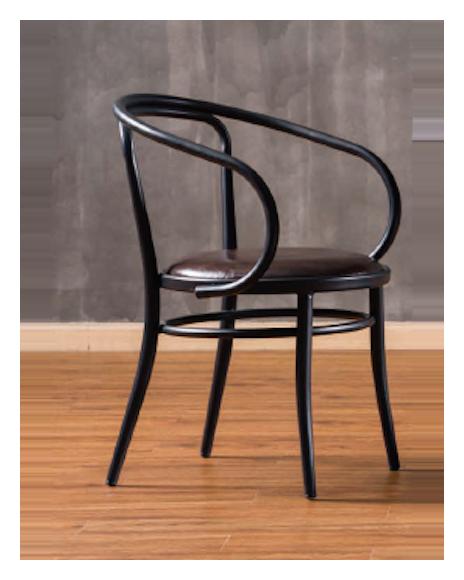 Black PU Seat