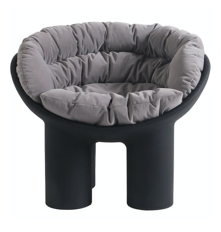 Replica RolyPoly Chair with Cushion